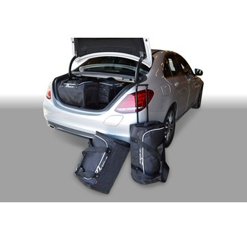 CAR-Bags CAR-BAGS Auto-Reisetaschenset für Mercedes C-Klasse Plug-In Hybrid (W205) 2015> 4-türig Limousine