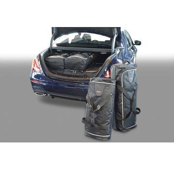 CAR-Bags CAR-BAGS Auto-Reisetaschenset für Mercedes E-Klasse Limousine (W212) 2009-2016 4-türig Limousine