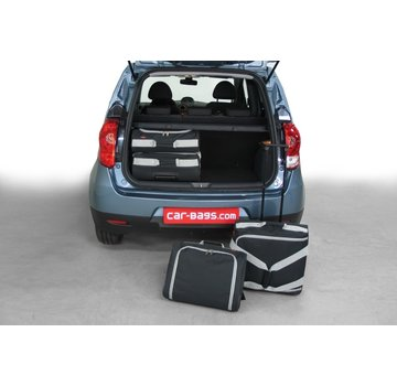 CAR-Bags CAR-BAGS Auto-Reisetaschenset für Mitsubishi Colt (Z30) 2009-2013 5-türig Fließheck (Facelift)