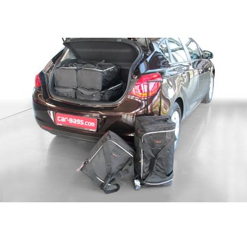 CAR-Bags CAR-BAGS Auto-Reisetaschenset für Opel Astra J 2009-2015 5-türig Fließheck