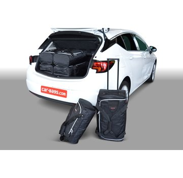 CAR-Bags CAR-BAGS Auto-Reisetaschenset für Opel Astra K 2015> 5-türig Fließheck