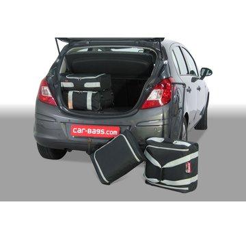 CAR-Bags CAR-BAGS Auto-Reisetaschenset für Opel Corsa D 2006-2014 5-türig Fließheck
