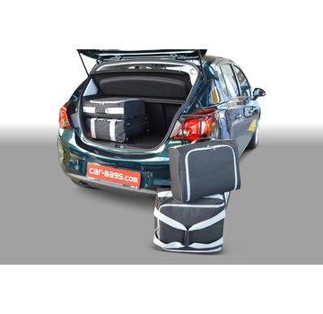 CAR-Bags CAR-BAGS Auto-Reisetaschenset für Opel Corsa E 2014-2019 5-türig Fließheck