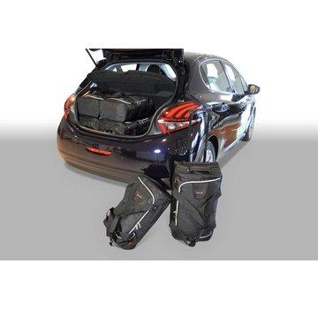 CAR-Bags CAR-BAGS Auto-Reisetaschenset für Peugeot 208 2012-2019 5-türig Fließheck