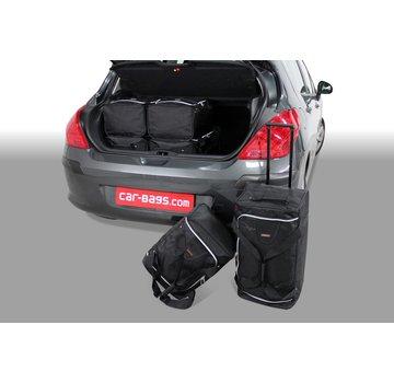 CAR-Bags CAR-BAGS Auto-Reisetaschenset für Peugeot 308 I 2007-2013 3 & 5-türig Fließheck