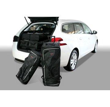 CAR-Bags CAR-BAGS Auto-Reisetaschenset für Peugeot 308 II SW 2014> Kombi