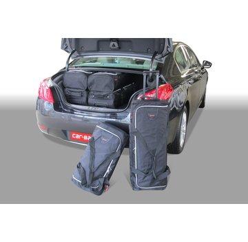 CAR-Bags CAR-BAGS Auto-Reisetaschenset für Peugeot 508 Hybrid 4 2012-2018 4-türig Limousine