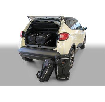 CAR-Bags CAR-BAGS Auto-Reisetaschenset für Renault Captur I 2013-2019 5-türig Fließheck