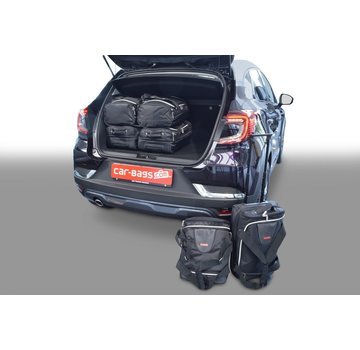 CAR-Bags CAR-BAGS Auto-Reisetaschenset für Renault Captur II 2019> 5-türig Fließheck