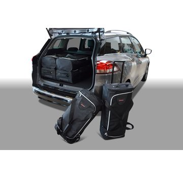CAR-Bags CAR-BAGS Auto-Reisetaschenset für Renault Clio IV Estate / Grandtour 2013> Kombi