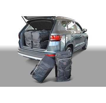 CAR-Bags CAR-BAGS Auto-Reisetaschenset für Seat Ateca 2016> (tiefer Ladeboden)