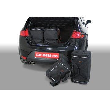 CAR-Bags CAR-BAGS Auto-Reisetaschenset für Seat Leon (1P) 2005-2012 3 & 5-türig Fließheck