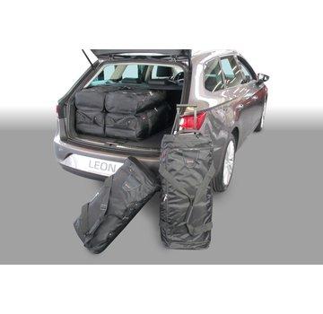 CAR-Bags CAR-BAGS Auto-Reisetaschenset für Seat Leon ST (5F) 2014-2020 Kombi