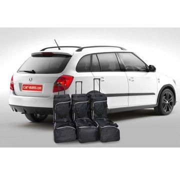 CAR-Bags CAR-BAGS Auto-Reisetaschenset für Skoda Fabia II combi (5J) 2007-2014 Kombi