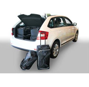 CAR-Bags CAR-BAGS Auto-Reisetaschenset für Skoda Rapid Spaceback (NH1) 2013-2019 5-türig Fließheck