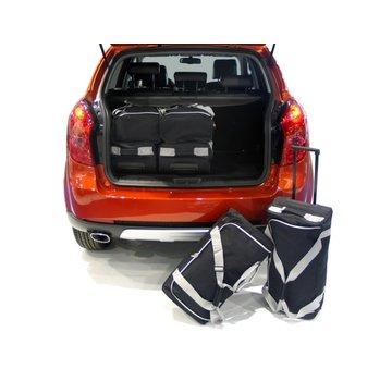CAR-Bags CAR-BAGS Auto-Reisetaschenset für Ssangyong Korando (C200) 2010-2019