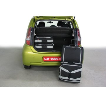 CAR-Bags CAR-BAGS Auto-Reisetaschenset für Subaru Justy IV (M300F) 2007-2011 5-türig Fließheck