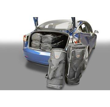 CAR-Bags CAR-BAGS Auto-Reisetaschenset für Tesla Model 3 2017> 4-türig Limousine