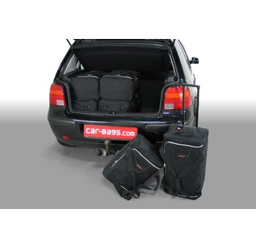 CAR-Bags CAR-BAGS Auto-Reisetaschenset für Volkswagen Golf IV (1J) 1997-2003 3 & 5-türig Fließheck
