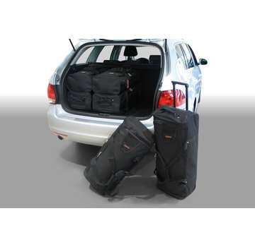 CAR-Bags CAR-BAGS Auto-Reisetaschenset für Volkswagen Golf V (1K) & VI (5K) Variant 2007-2013 Kombi
