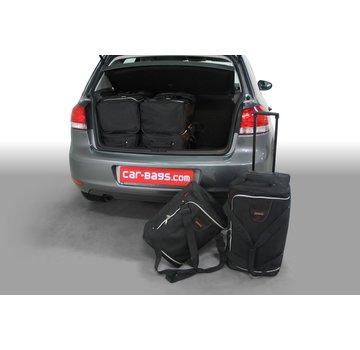 CAR-Bags CAR-BAGS Auto-Reisetaschenset für Volkswagen Golf VI (5K) 2008-2012 3 & 5-türig Fließheck