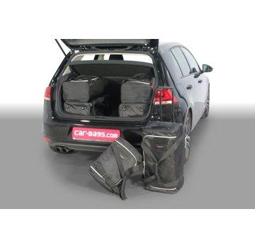 CAR-Bags CAR-BAGS Auto-Reisetaschenset für Volkswagen Golf VII (5G) 2012-2020 3 & 5-türig Fließheck
