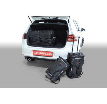 CAR-Bags CAR-BAGS Auto-Reisetaschenset für Volkswagen Golf VII GTE 2014-2020 5-türig Fließheck