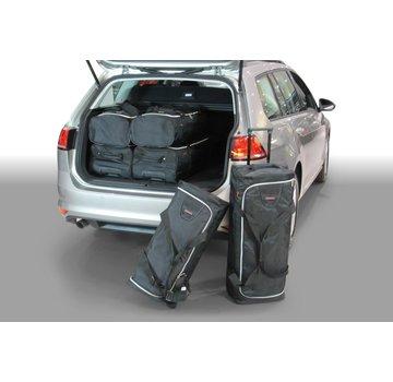 CAR-Bags CAR-BAGS Auto-Reisetaschenset für Volkswagen Golf VII Variant (5G) 2013-2020 Kombi
