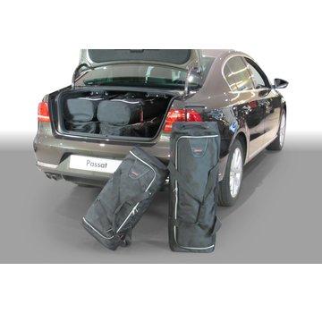CAR-Bags CAR-BAGS Auto-Reisetaschenset für Volkswagen Passat (B7) 2010-2014 4-türig Limousine