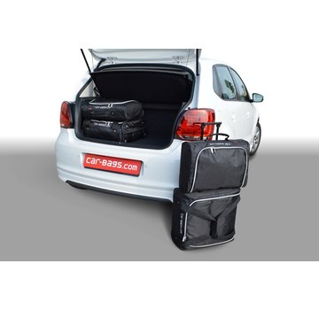 CAR-Bags CAR-BAGS Auto-Reisetaschenset für Volkswagen Polo V (6R - 6C Facelift) 2009-2017 3 & 5-türig Fließheck