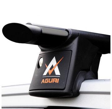 Aguri Runner Dachträger Mitsubishi Outlander MK III SUV ab 2012   AGURI Runner schwarz