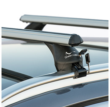 Green Valley Dachträger Dachträger Audi A3 Sportback (8V) 5-türig Fließheck ab 2012 | Mit werkseitig aufliegender Dachreling