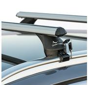 Green Valley Dachträger Dachträger Volvo XC40 SUV ab 2018 | Mit werkseitig aufliegender Dachreling