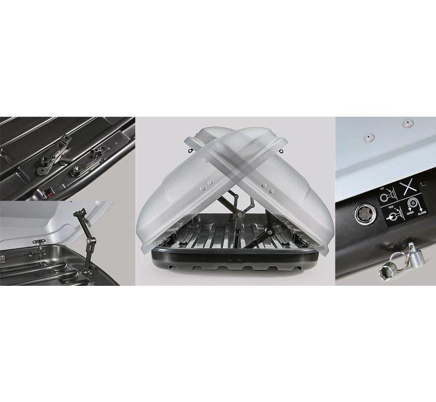 Farad Dachbox N7 680 Liter schwarz matt
