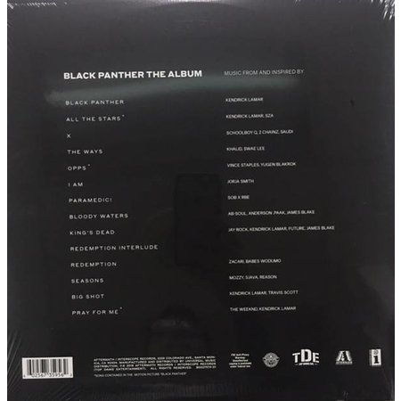 Various   Black Panther The Album (Music From And Inspired By)