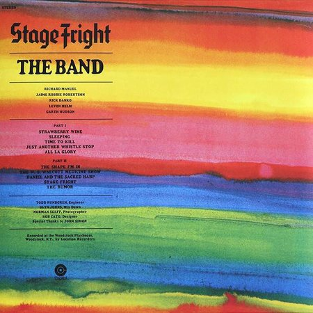 The Band | Stage Fright