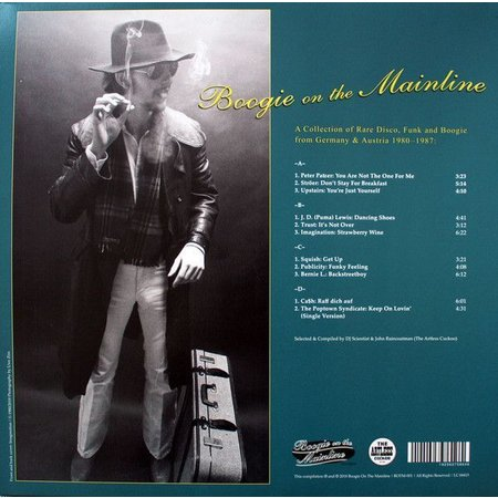 Various | Boogie On The Mainline – A Collection Of Rare Disco, Funk And Boogie From Germany 1980-1987