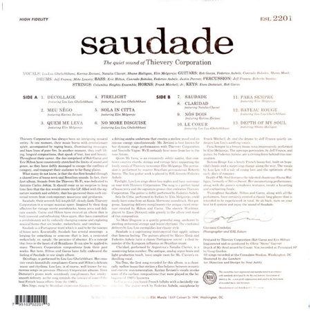 Thievery Corporation | Saudade