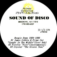 Sound Of Disco | Boogie Down 1984-86