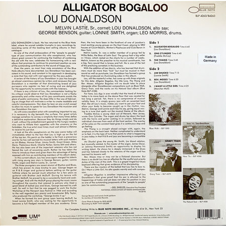 Lou Donaldson | Alligator Bogaloo