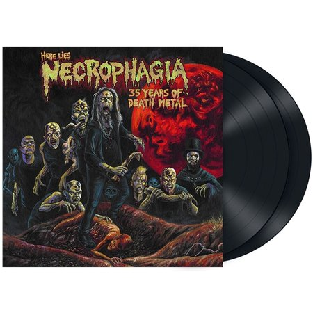 Necrophagia | Here Lies Necrophagia: 35 Years Of Death Metal