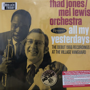 Thad Jones / Mel Lewis Orchestra | All My Yesterdays