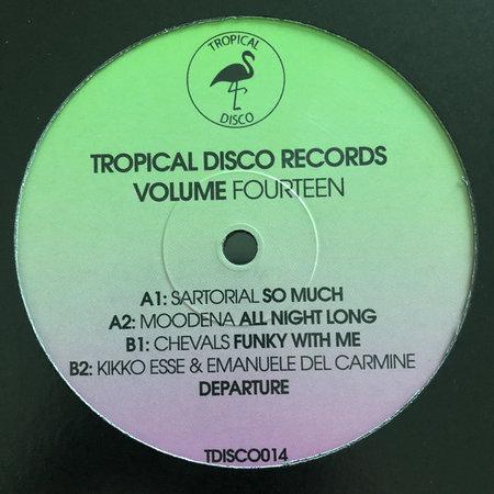 Sartorial, Moodena, Chevals, Kikko Esse, Emanuele Del Carmine | Tropical Disco Records Volume Fourteen