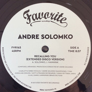 Andre Solomko | Recalling You