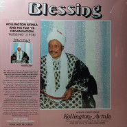Alhaji Chief Kollington Ayinla & His Fuji '78 Organization | Blessing