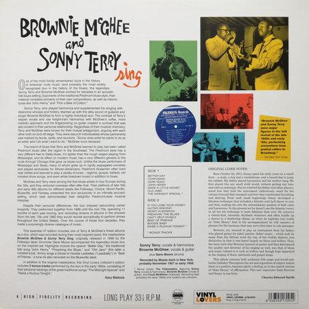 Sonny Terry & Brownie McGhee | Brownie McGhee And Sonny Terry Sing
