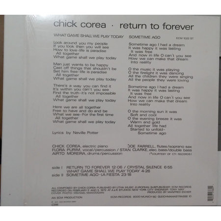 Chick Corea | Return To Forever