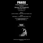 Joe Claussell | Praise EP Sampler Volume Two