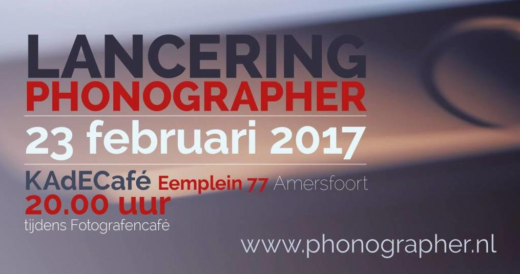 Lancering Phonographer magazine