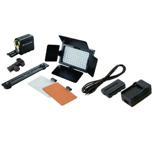 Falcon Eyes LED-lamp set DV-96V-K2 (accu)